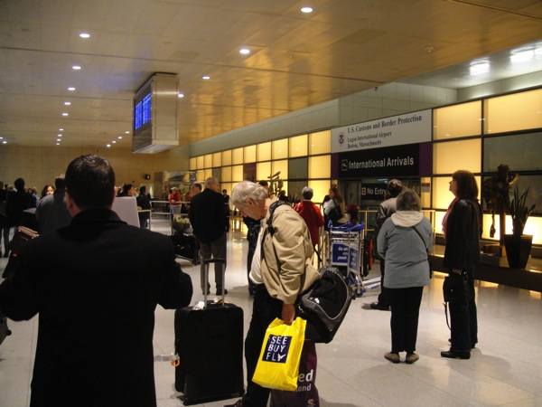 Airport Arrivals baggage