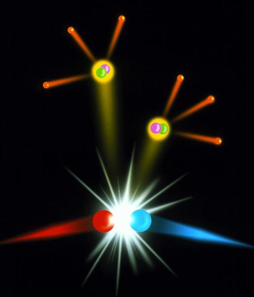 Positron electron collision