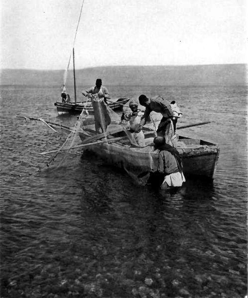 Galilee fishermen 1912