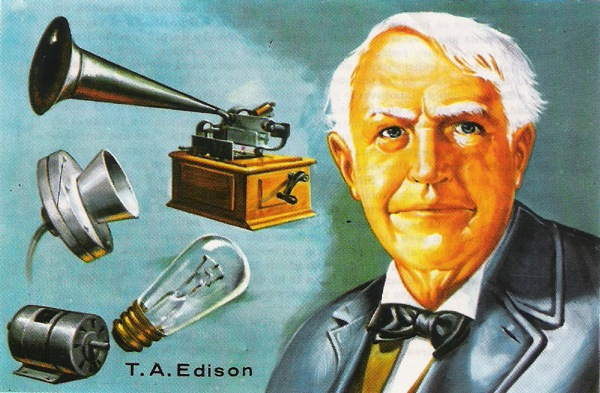 Thomas Edison and inventions