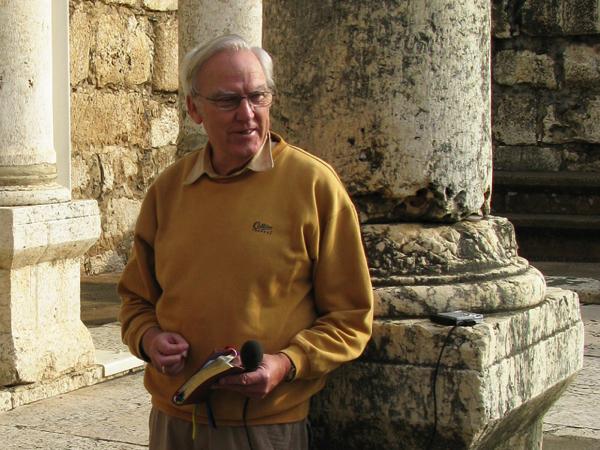 Colin Urquhart in Capernaum