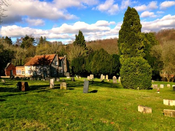 Speen churchyard