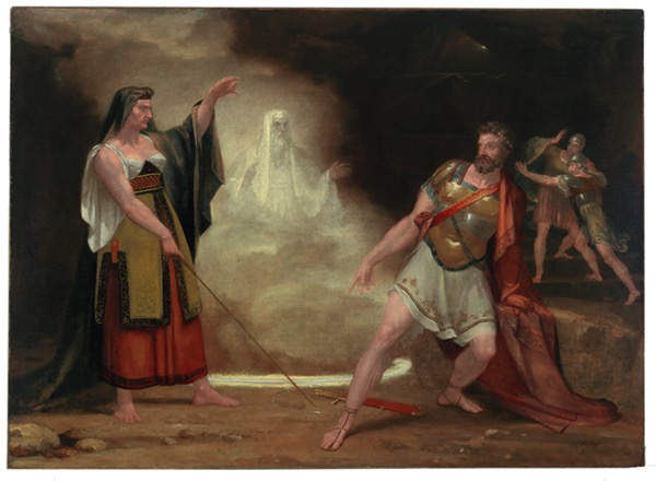 Witch of Endor by Washington Aliston 1820 FiveCollegeMuseums
