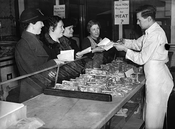 Meat rationing WW2